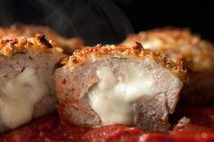 Chicken Parmesan Meatloaf Muffins