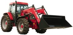 Wallmonkeys WM314039 Red Tractor Peel and Stick Wall Decals 72 in W x 35 in H * Click image to review more details.