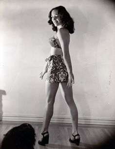 Lina Romay - c.1949 (by thetag1)