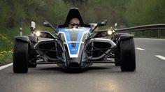 Formula Ford EcoBoost. Street Legal Racer on Road and Nürburgring - /CHR...