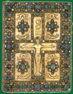 Lindau Gospel cover 1c hr - NYC Pierpont Morgan Library