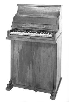 Upright piano and reed organ ~ mid 19th century