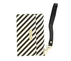 Kate Spade Stripe Phone Wristlet $70