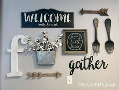 How to Make a Wall Collage: Tips for tackling it with ease — The .How to Make a Wall Collage: Tips for tackling it with ease — The .Home Wall Ideas Dinning Room Wall Decor, Dining Room Walls, Farmhouse Kitchen Decor, Home Decor Kitchen, Kitchen Ideas, Kitchen Decorations Ideas, Kitchen Wall Design, Farmhouse Décor, Bedroom Decor