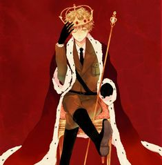 Arthur as King - Art by Amemori Gigi