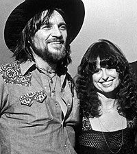 "Waylon Jennings & Jessi Colter<3...The ""Good Hearted Woman In Love With A Good Timing Man""...Man & Wife Until His Early Passing...One Super Couple...Real Love & Devotion Thru Many Trials..."