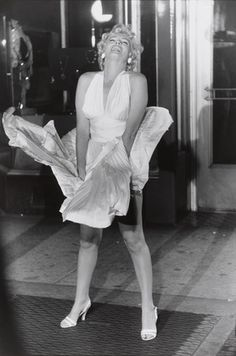 "Marilyn Monroe, ""Seven Year Itch"" set, New York City from the portfolio Big Shots  Garry Winogrand (American, 1928-1984)"