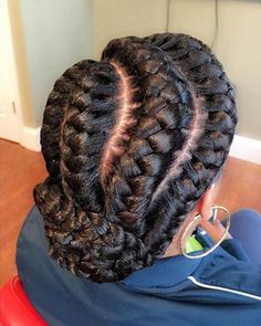 Are you looking for a simple (yet fierce) new style? You should take a peek at these 31 goddess braids hairstyles for women! Are you looking for a simple (yet fierce) new style? You should take a peek at these 31 goddess braids hairstyles for women! Black Girl Braids, Braids For Black Hair, Girls Braids, Big Braids, Box Braids Hairstyles, African Hairstyles, 1920s Hairstyles, Hairstyles 2016, Popular Hairstyles