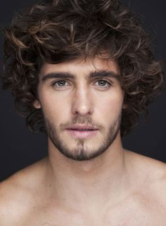 Alex Libby, curly mens cut