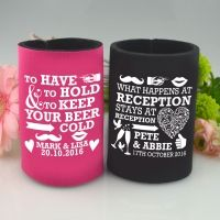 Limited Edition Wedding Stubby Holders