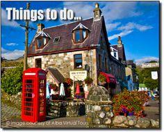 Killin - where the mountains meet the loch