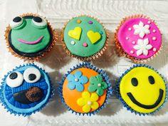 Cup cakes con los motivos que quieras!!!