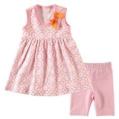 Hudson Baby Dress and Cropped Leggings Mosaic 69 Months -- For more information, visit image link.