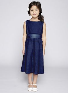 Navy blue dress for girl – Dress best style form Navy Bridesmaid Dresses, Wedding Dresses For Girls, Girls Dresses, Flower Girl Dresses, Summer Dresses, Formal Dresses, Flower Girls, Bridesmaids, Girls Blue Dress