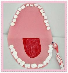 Dental Craft For Child Health Month