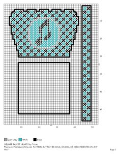 SQUARE BASKET MUSICAL NOTE by TRICIA 2/2 Plastic Canvas Books, Plastic Canvas Tissue Boxes, Plastic Canvas Christmas, Plastic Canvas Crafts, Plastic Canvas Patterns, Pc Music, Music Notes, Canvas Totes, Music Crafts