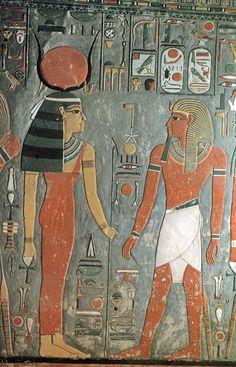Horemheb, last Egyptian king of the 18th Dynasty, reigned 1333–1306 B.C.© OSIRISNET.NET, Horemheb tomb