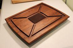 Walnut Carving Board by RiverwoodOriginals on Etsy