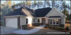 Wheelchair accessible home designed and built by Stanton Homes in North Carolina.