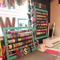 Has your washi obsession taken over everywhere? It's time to get organized and get that collection contained. Here are 12 creative ways to control the rolls.