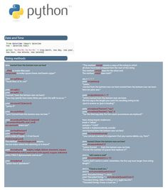 Python Cheat Sheet #python #programming
