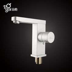 Character space aluminum hot and cold face basin bibcock space aluminum basin faucet faucet lavatory faucet