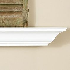 Amherst 72 Inch Wood Fireplace Mantel Shelf