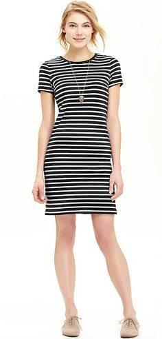 Jersey Shift Dress