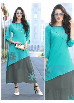 For details ping whtsapp number 09947840682 Different  designs are available Long Kurti Patterns, Salwar Designs, Kurti Neck Designs, Blouse Designs, Abaya Fashion, Ethnic Fashion, Fashion Outfits, Hippy Chic, Stylish Dresses