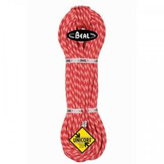 LanoBeal Ice Line 8,1 mm Dry Cover jeveľmi ľahképolovičné lano. Toto lano od firmy BEALvyniká svojimi vlastnosťami: nízka rázová sila avysoký počet pádov, čo je výborné pre nie práve najlepšie istiace body v ľade a mixoch.Toto lano sa radí medzi lanáUnicore.