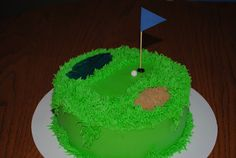 Cake Appeal Golf Green Birthday Cake