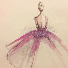 drawing Illustration art Glitter dress gown getting ready paper fashion Katie Rodgers Arte Fashion, Paper Fashion, Fashion Room, Art And Illustration, Ballerina Illustration, Fashion Sketches, Fashion Illustrations, Fashion Drawings, Illustration Fashion