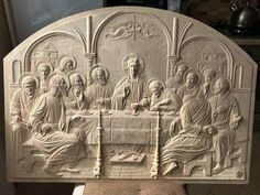 Wood Carving Designs, Wood Carving Art, Altar Design, Intarsia Wood, Cold Porcelain Flowers, Mary And Jesus, Byzantine Icons, Christian Art, Religious Art