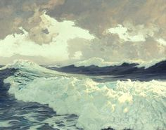 The Ocean, 1929, Frederick Judd Waugh
