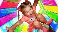 Сhildren have fun playing on the playground, Family fun play area for kids Baby songs nursery rhymes    {{AutoHashTags}}