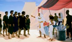 2000 Joseph King of Dreams - Dreamworks - not quite as dark as the first instalment Prince of Egypt. The age old story looks good in this format, and the dream sequence was special at that time. You also get to see Egypt in its hay-day!