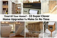 Tired Of Your Home? – 33 Super Clever Home Upgrades To Make In No Time