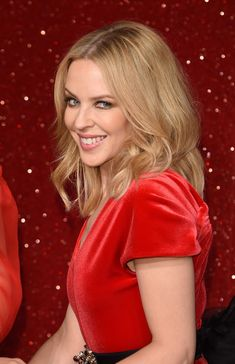 Kylie Minogue At Madame Tussauds In London