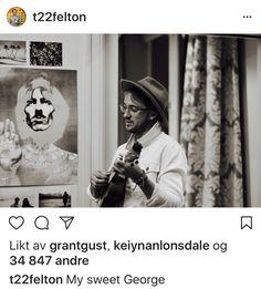 Tom's Instagram - My sweet George