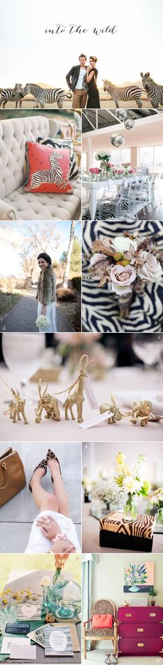 Safari Wedding Ideas -- Plan a wedding at Rhino River Lodge Safari Wedding, Safari Party, Safari Theme, African Theme, African Safari, Destination Wedding, Wedding Planning, Greenhouse Wedding, Wedding Mood Board