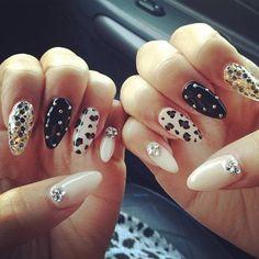 variety stiletto nails