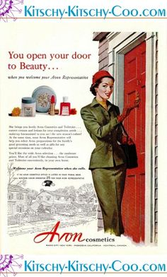 Vintage Avon AD from 1953