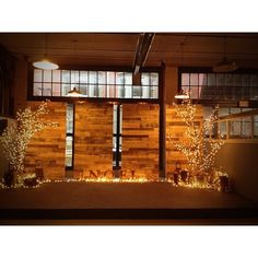 Wooden Stage Panels (Substance Church)