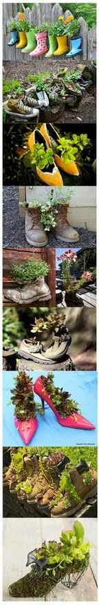 Stylish Shoe Garden