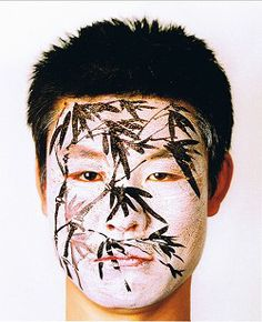 FACE PAINTING (Bamboo), Huang Yan - 2004