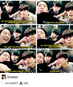 How lovely Youngjae......