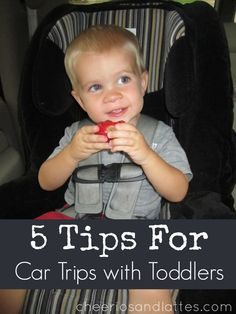 5 Tips for Car Trips with Toddlers