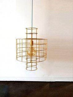 CROSS Handmade Pendant Light Chandelier Edison by LightCookie