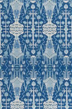 Bombay – Cobalt – Discount Designer Fabric – fabrichousenashville.com