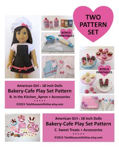 American Girl  _ 18 Doll _ Bakery  Cafe  by TateMuseumOnline